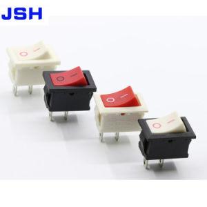 Interruttore di attuatore inserita/disinserita di Spst mini 15X10mm 250V AC/3A