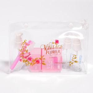 Mode de promotion EVA personnalisés/ maquillage en plastique Sac cosmétique avec fermeture à glissière