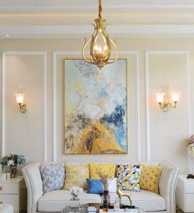 De style européen de la salle de séjour salle à manger de lustres en laiton
