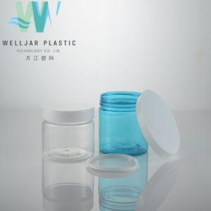 Vendita calda vaso di plastica trasparente o blu di 250ml dell'animale domestico