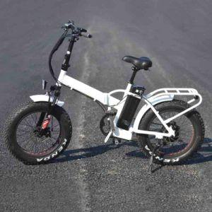 36V 350W gordura dobrável de bicicletas eléctricas dos pneus