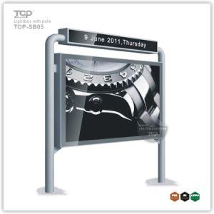옥외 광고 알루미늄 케이스 두루말기 전시 가벼운 상자
