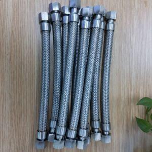 Tubo flessibile ondulato flessibile del metallo degli ss con entrambi i montaggi della femmina del NPT dell'estremità