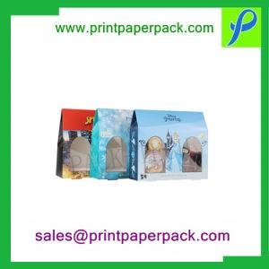 Forma de la casa con Transprent Windlow caja plegable de PVC y bandejas de vacío para Perfumería / Cosmética / Body Mist embalaje