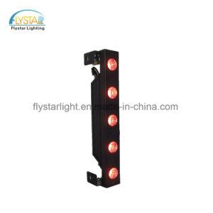 5pcs*12W RGBW 4en1 bañador de pared LED de iluminación de escenarios