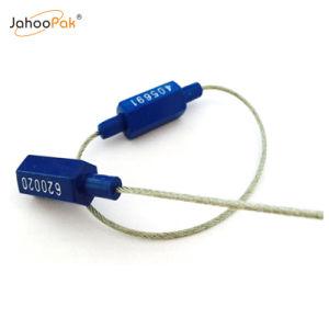 ABS rouge en aluminium de la sécurité C-TPAT joint de câble pour la logistique