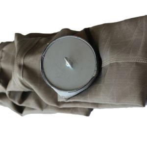Saco de filtro de fibra de vidro com membrana de PTFE Tecidos de pano de Filtro