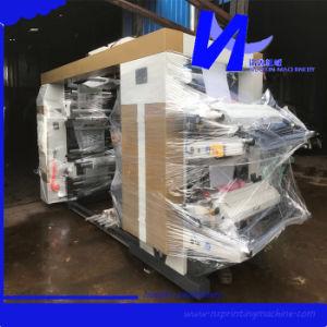 Nuoxin 더미 유형 6 색깔 Flexographic 인쇄 기계