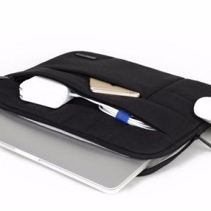 Fördernde populäre weiche Nylonmann-Geschäfts-Laptop-Notizbuch-Hülse