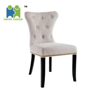 Luis) Estructura de madera silla de respaldo alto barato Silla de ...