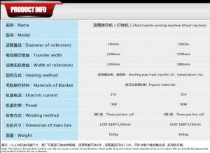 Heißes Rollenwärme-Presse-Kalender-Maschinen-Gewebe des Verkaufs-170cmx200mm