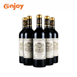 Vaso de vino tinto papel adhesivo/PE/PET/PVC resistente al agua de la etiqueta Hot Stamping UV
