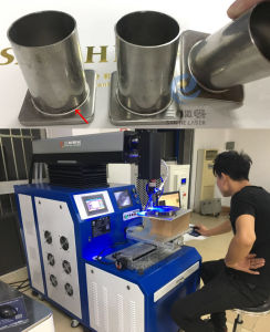 máquina de soldar automático de YAG Laser de molde a China Sanhe Laser
