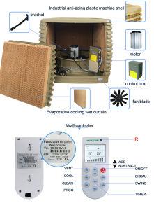 Рр материал экологичный пластика с охладителя при испарении влажности на дисплее