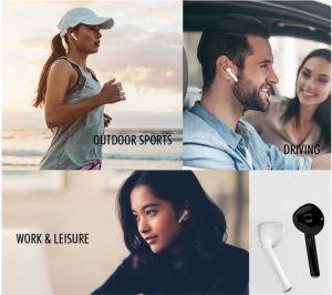 充満ボックス小型スポーツBt EarbudssのBluetoothのヘッドセットのBluetoothのヘッドホーンの無線ステレオのイヤホーン2018年のTws I7s