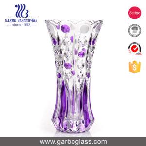 Высокие декоративные вазы из стекла цвета (ГБ1568ярдов/сек)