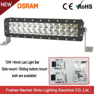 LEIDENE Osram van de premie 72W 14inch Lichte Staaf voor Offroad SUV (GT3106-72W)