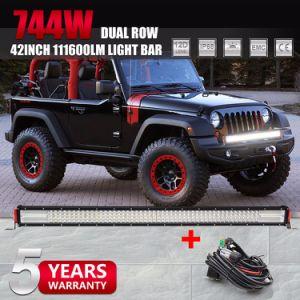 De in het groot Super Heldere Staaf van de Reflector van de Straal Combo 12D Offroad Lichte, 384W Offroad LEIDENE Lichte Staaf voor van de Jeep van de Weg