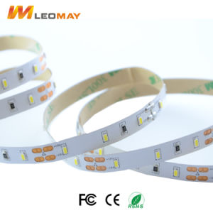 Streifen des Qualitäts-warmer Weiß-3014 60LEDs/M 6W/M 12V LED