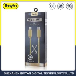 携帯電話のアクセサリUSBデータ充電器電光ケーブル