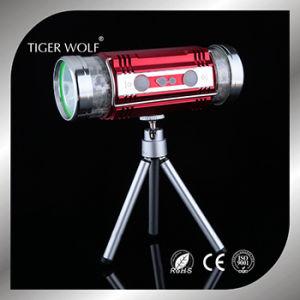 La carga de las luces de noche al aire libre Camping Portable linterna LED recargable de alta potencia de la luz de la pesca