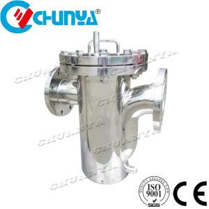 Com vários estágios do tipo da cesta para alojamento do filtro do sistema de águas residuais