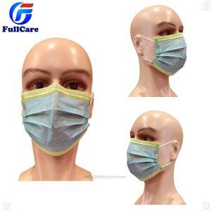의사 외과의사 외과 병원 방어적인 안전 N95 시험 입 Earloop 동점을%s 가진 처분할 수 있는 가면이 치과 부직포 3ply Bfe99 먼지 종이에 의하여 위에 농담을 한다