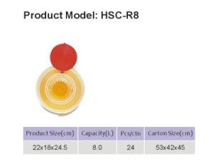 Kundenspezifische Beseitigungs-Behälter der Spritze-8L