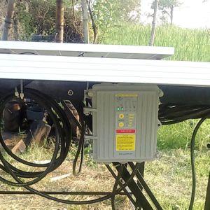 3pulgada tornillo Solar Bomba, Bomba de la fuente de energía solar, Solar de la bomba de jardín interno