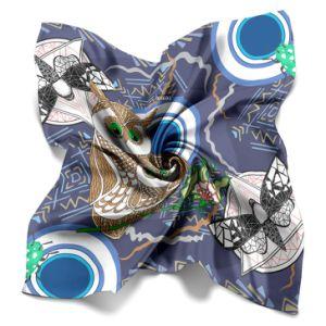 女性の装飾のための方法絹のスカーフをカスタム設計しなさい