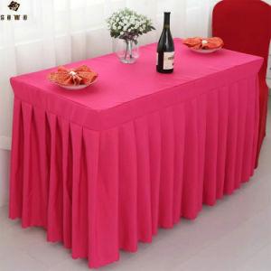 Банкетный зал ресторана отеля Rectangletablecloth таблица юбки