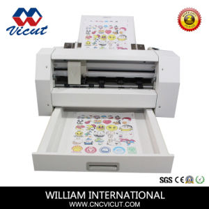 Автоматическая подача виниловые наклейки/Label/бумага/PVC машины Vct-Lcs реза