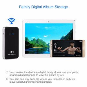 WiFi Carcasa para Disco duro de almacenamiento de álbum digital de la familia