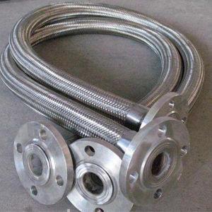 修復されるフランジを付けたようになった接続または旋回装置が付いている波形のホース