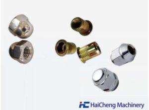 Général pneumatique vertical automatique CNC Tapping/machine de forage pour standard ou les écrous de fixations non standard/disque de vibration et remué Feed