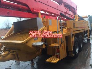 よいWell-Maintenceによって使用されるSany Conctereポンプトラック37mブームの長さのコンクリート機械