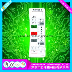 De epoxy Vertoning van het Scherm van de Aanraking van het Comité van de Controle van de Raad van de Deklaag Flexibele Grafische
