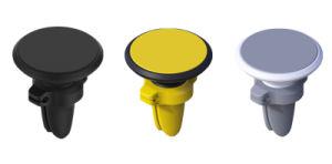 電話ホールダーのケーブルクリップが付いている磁気エア・ベントの台紙の立場360の回転車のホールダー