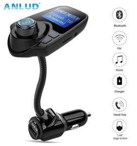 Reproductor de MP3 Bluetooth Car Kit Manos Libres para vehículo transmisor de FM
