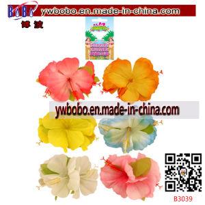 人工花のハワイのLuauの花のハンドメイドの花(B3088)
