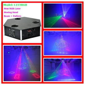 Новый стиль 3 головка цветной RGB алюминиевых этапе лазера