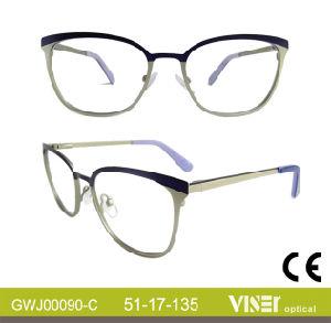 Optische Frames van de Manier van het metaal de Nieuwe (90-B)