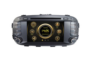 Anima del sistema KIA di intrattenimento dell'automobile DVD GPS Sat Nav di Wince