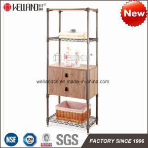 China Manufacutrer DIY Armário de madeira de aço móveis de sala de lavagem  do Tombador 2ebdae29ee1bd