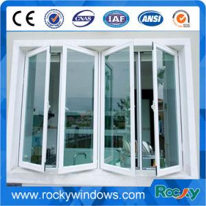 La parte superior de la ventana toldo aluminio colgado hacia afuera (apertura)