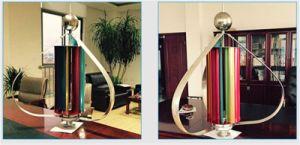 Eixo Vertical Gerador de turbina eólica 100W 12/24V AC Gerador eólico