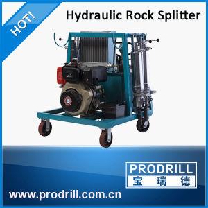 Divisor de hidráulico de concreto com motor diesel para mineração