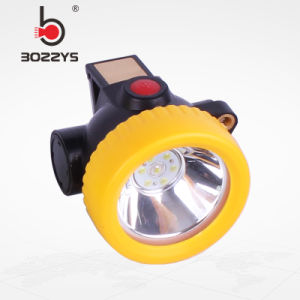 El carbón de iones de litio mineros Caplamp LED inalámbrico nuevo faro BK3000.
