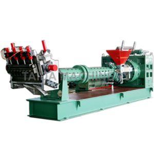 Pinバレルの冷たい供給のゴム製押出機Xjd-150