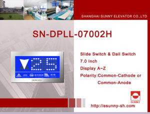 Bildschirmanzeige LCD für Elevator (SN-DPLL-07002H)